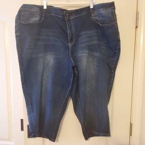 Cato size 32W Jean capris